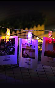 3m fotoklipsholder ledet strenglampe for nyttårsfest bryllup hjem dekorasjon fe lyser batteri