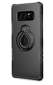 ケース 用途 Samsung Galaxy Note 8 カードホルダー 耐衝撃 スタンド付き バックカバー 鎧 ハード PC のために Note 8