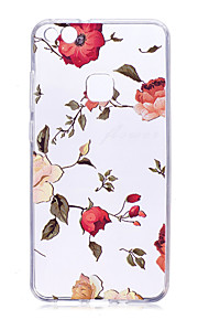 Case For Huawei P9 Lite P10 Transparent Back Cover Flower Soft TPU for Huawei P10 Plus Huawei P10 Lite Huawei P10 Huawei P9 Huawei P9