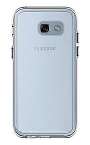 מגן עבור Samsung Galaxy A5(2017) עמיד בזעזועים שקוף כיסוי אחורי שקוף קשיח PC ל A5 (2017)