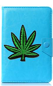 Funda botánica universal de la cubierta del soporte de cuero de la PU para 7 pulgadas 8 pulgadas 9 pulgadas Tablet PC de 10 pulgadas