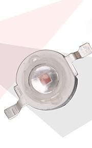3W 110lm 50 lysdioder Forsænket LED-vækstlampe Rød