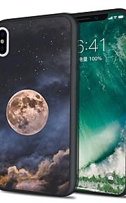 Custodia Per Apple iPhone X iPhone 8 Plus Fantasia/disegno Custodia posteriore Cielo Morbido TPU per iPhone X iPhone 8 Plus iPhone 8