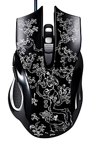Chasing Panther 169 Wired USB Interface Game Mouse 6 Button Adjustable DPI