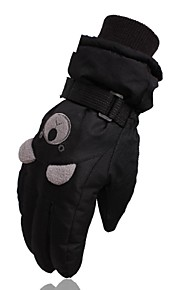 Winter Gloves Ski Gloves Kid's Full-finger Gloves Keep Warm Windproof Skidproof Durable Poly&Cotton Blend Camping / Hiking Cycling Ski /