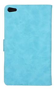 caso para huaweim2 7.0 ple-703l titular de la tarjeta auto sueño / despertar todo el cuerpo de color sólido cuero de la PU para huaweim2