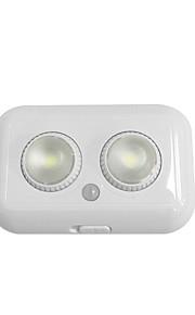1pc 1W 1 lysdioder Let Instalation Bevægelsessensor LED-kabinetlamper Varm hvid Kold hvid