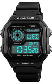 SKMEI Homens Digital Relogio digital Relógio de Pulso Relógio Esportivo Japanês Alarme Calendário Cronógrafo Impermeável Noctilucente