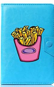 Hülle Für Ganzkörper-Gehäuse Tablet-Hüllen Muster Cartoon Design Hart PU-Leder für
