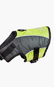 犬 ハーネス 携帯用 高通気性 ソリッド ファブリック グリーン
