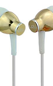 LIZU i-KL330 귀에 유선 헤드폰 동적 구리 모바일폰 이어폰 마이크 포함 헤드폰