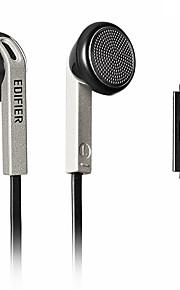 EDIFIER H190P EARBUD 유선 헤드폰 동적 플라스틱 모바일폰 이어폰 마이크 포함 헤드폰