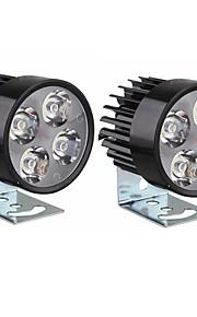 Sencart uniwersalny 4 led reflektor motocyklowy dc10-80v1000lm 6500k reflektor lampa dla rowerów motocykle samochody