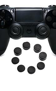 drahtloser Bluetooth Spielsteuerpult Gamepad Steuerpultsteuerknüppel Gamepads mit Silikonkappe für ps4
