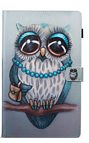 Case For Amazon Card Holder Wallet with Stand Pattern Auto Sleep/Wake Up Full Body Owl Hard PU Leather for Kindle Fire hd 10(7th