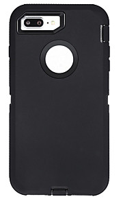 Coque Pour Apple iPhone X iPhone 8 Plus Antichoc Eau / saleté+D4731 / antichoc Avec Ouverture Coque Intégrale Couleur unie Flexible