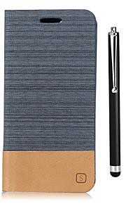 Capinha Para Xiaomi Mi Max 2 Mi 5X Porta-Cartão Carteira Com Suporte Flip Capa Proteção Completa Côr Sólida Rígida PU Leather para Xiaomi
