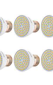 YWXLIGHT® 6pcs 7W 500-700 lm E26/E27 LED Spotlight 72 leds SMD 2835 Warm White Cold White Natural White 110-130V 220-240V