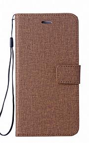 Custodia Per Sony Xperia Z5 Xperia L1 Porta-carte di credito A portafoglio Con supporto Con chiusura magnetica Integrale Tinta unica