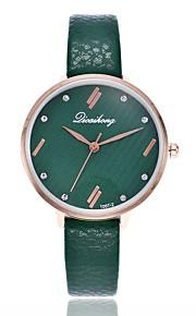 Mulheres Relógio Elegante Relógio de Moda Relógio Casual Chinês Quartzo Relógio Casual Lega Banda Casual Preta Branco Cinza Rosa Roxa