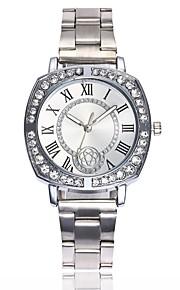 Mulheres Relógio Elegante Chinês Quartzo Relógio Casual Lega Banda Casual Fashion Prata Dourada Ouro Rose