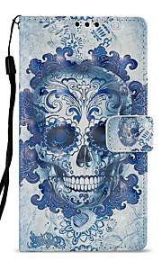 Custodia Per Sony Xperia XZ1 Xperia L2 Porta-carte di credito A portafoglio Con supporto Con chiusura magnetica A calamita Integrale