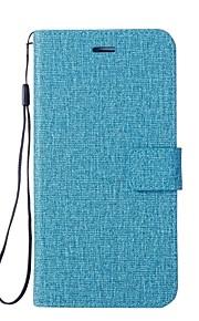 Custodia Per Huawei Nova 2 Nova Porta-carte di credito A portafoglio Con supporto Con chiusura magnetica Integrale Tinta unica Resistente