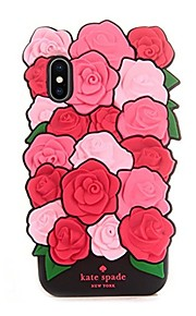Case For Apple iPhone X Pattern Back Cover Flower Soft Silicone for iPhone X