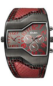 Mulheres Casal Quartzo Relógio de Moda Relógio Esportivo Relógio Casual Chinês Impermeável Relógio Casual Couro Legitimo Banda Luxo
