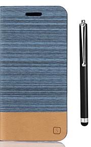 Capinha Para Xiaomi Redmi Note 5A Redmi Note 4X Porta-Cartão Carteira Com Suporte Flip Capa Proteção Completa Côr Sólida Rígida PU Leather