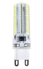 SENCART 1pc 3.5W 600 lm E14 G9 G4 LED-kornpærer T 104 leds SMD 3014 Dekorativ Varm hvit Kjølig hvit 110-120V 220V-240V