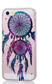 caso para ipod touch5 / 6 estojo de capa alto pó penetrante em pó gotas coloridas de cartilagens de vento soft tpu phone case