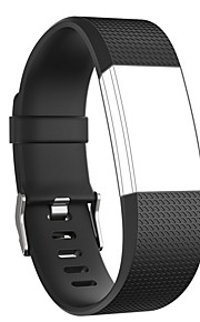 Watch Band na Fitbit Charge 2 Fitbit Nowoczesna klamra Silikon Opaska na nadgarstek