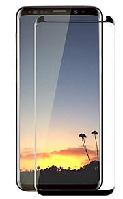 Proteggi Schermo Samsung Galaxy per S8 Vetro temperato 1 pezzo Proteggi-schermo integrale Estremità angolare a 3D Anti-graffi Durezza 9H