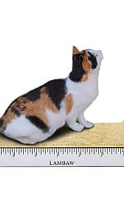 Griffoir Multicolore Griffoir Aide à Perdre du Poids Herbe-aux-Chats Papier carton Pour Chats