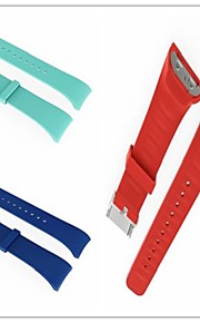 Watch Band varten Gear Fit 2 Samsung Galaxy Urheiluhihna Silikoni Rannehihna