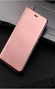 Case For Huawei P10 Lite P10 with Stand Plating Mirror Flip Auto Sleep/Wake Up Full Body Cases Solid Color Hard PU Leather for P10 Plus