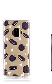 ケース 用途 Samsung Galaxy S9 S9 Plus 半透明 バックカバー 食べ物 ソフト TPU のために S9 Plus S9 S8 Plus S8 S7 edge S7