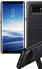 ケース 用途 Samsung Galaxy Note 8 耐衝撃 スタンド付き バックカバー ソリッド ハード PC のために Note 8
