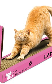 Catnip Beds Simple Pet Friendly Scratch Pad Paraben Free Formaldehyde Free Cardboard Paper For Cats