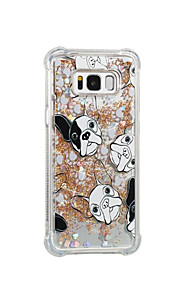 Case For Samsung Galaxy S8 Plus S8 Flowing Liquid Pattern Back Cover Dog Soft TPU for S8 Plus S8 S7 edge S7