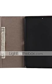 Etui Til Apple iPad Mini 4 iPad Mini 3/2/1 iPad 4/3/2 iPad Air 2 iPad Air Kortholder Pung Med stativ Flip Præget Fuldt etui