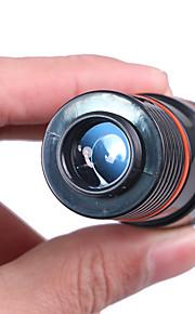 8X18mm Monoculair Draagbaar BaK4 Multi-coating 250/1000m Wandelen / Kamperen / Reizen Plastic omhulsel