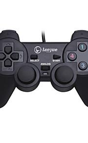 L-300S Med ledning Game Controllers Til PC Vibrering Game Controllers ABS 1pcs enhet USB 2.0