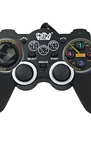 WE-851S Med ledning Game Controllers Til PC Bærbar / Vibrering Game Controllers ABS 1pcs enhet 150cm USB 2.0