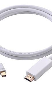 1 Mini DisplayPort HDMI 2.0 Male - Male 1080P 1.8m(6Ft)