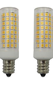 2pcs 5 W 460 lm E12 Bombillas LED de Mazorca 102 Cuentas LED SMD 2835 Blanco Cálido / Blanco Fresco 110-130 V