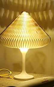1pc Night Light LED Bianco caldo USB Adorabile 5 V