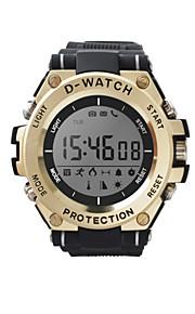 D-watch01C Γιούνισεξ Έξυπνο ρολόι Android iOS Bluetooth Smart Αθλητικά Αδιάβροχη Μεγάλη Αναμονή Φωτογραφική μηχανή Χρονόμετρο Βηματόμετρο Υπενθύμιση Κλήσης Παρακολούθηση Ύπνου Βρες τη Συσκευή Μου