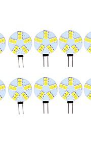 3 W LED Φώτα με 2 pin 290 lm G4 15 LED χάντρες SMD 5730 Διακοσμητικό Θερμό Λευκό Ψυχρό Λευκό 12 V, 10pcs